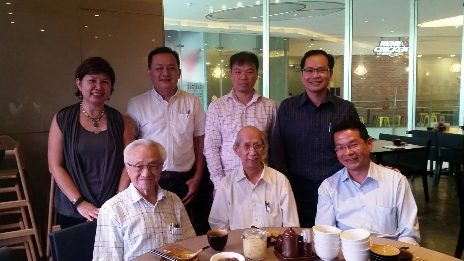 Meeting and Lunch with CMP Consultants Pte Ltd board of directors.